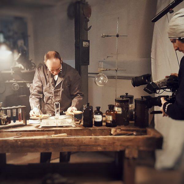Set Making Of Film Aufnahmen WD40