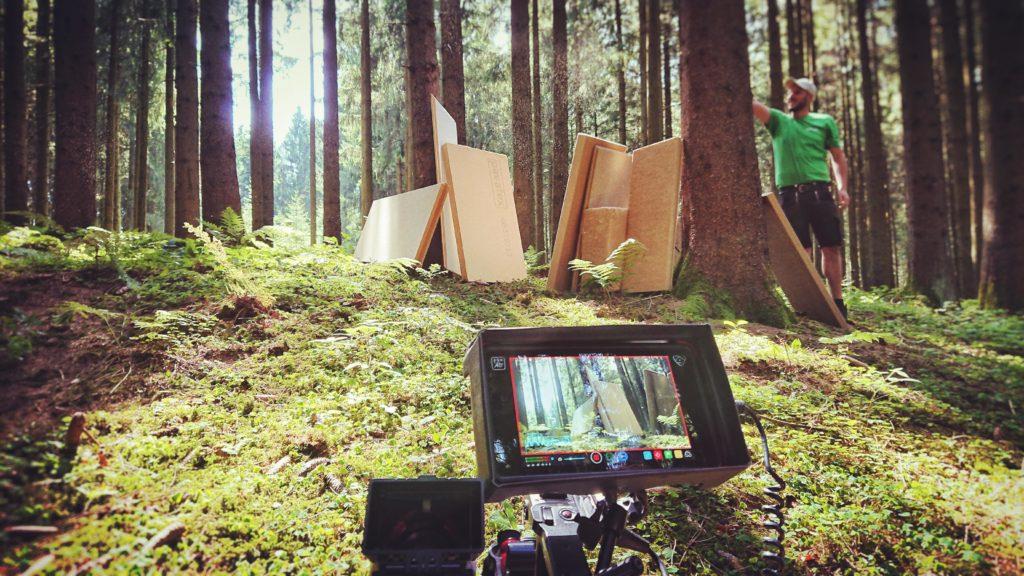 Promo Video Aufnahmen in der Natur