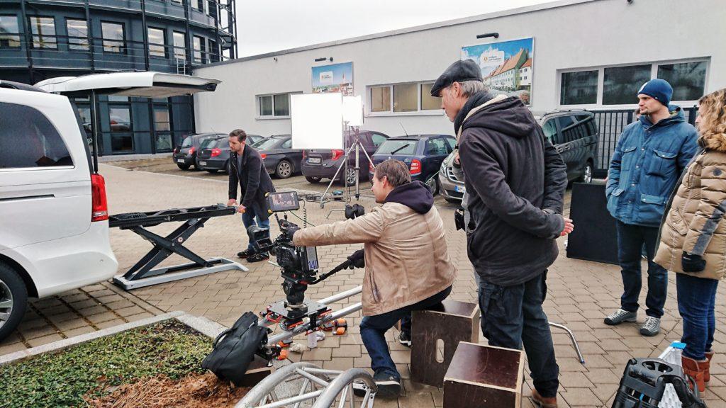 Werbefilm Aufnahmen