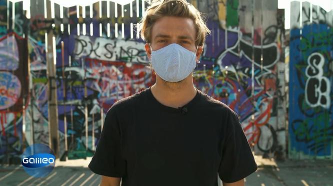 München Spende Masken Corona TV Beitrag